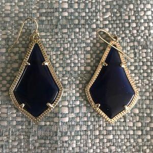 Navy Blue Kendra Scott Earrings